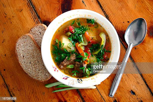 soup is ready - vegetable soup stock pictures, royalty-free photos & images