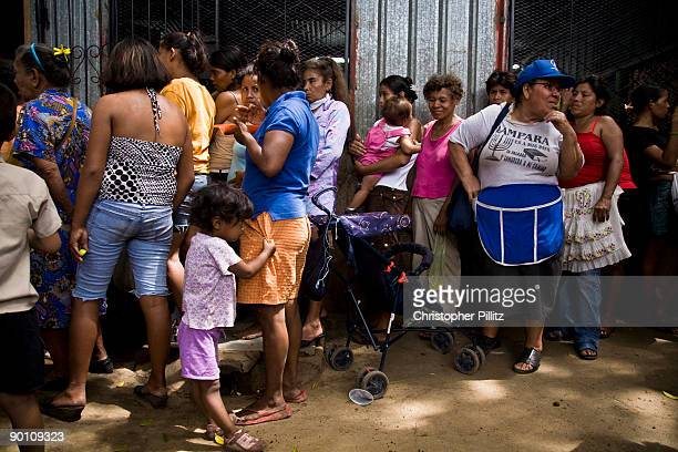 A soup kitchen in a poor neighbourhood of Managua feeds about 160 people a day