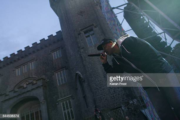 Soup of Jurassic 5 performs at CastlePalooza at Charville Castle on July 2, 2016 in Tullamore, Ireland.