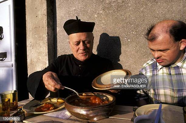 Soup Of The Priest In France In 1987 Not only is the former Anglican priest has converted to Catholicism pure and hard but he was also devoted to the...