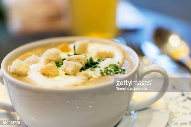 soup - speisen stock pictures, royalty-free photos & images