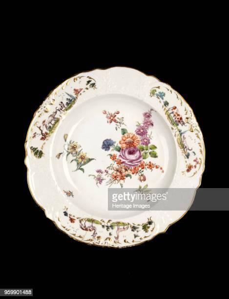 Soup plate circa 17551760 Artist Unknown