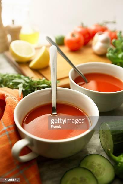 Sopa de imágenes fijas: Gazpacho