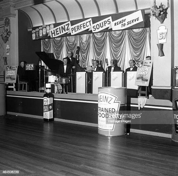 Soupa Dance Heinz roadshow Mexborough South Yorkshire 1964 In 1964 Heinz embarked on a nationwide tour to promote their canned soup products In this...