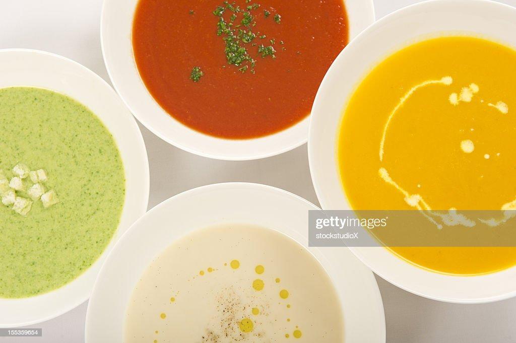Soups : Stock Photo