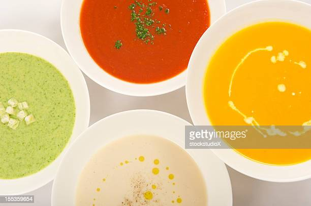 soups - pureed stock photos and pictures