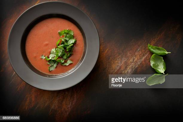 Suppen: Tomaten Suppe Stillleben