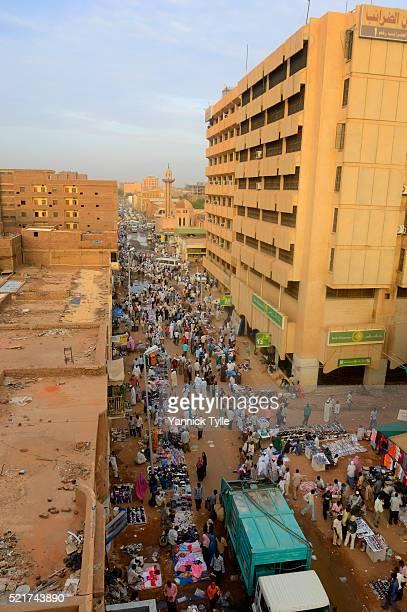 Souq al'Arabi in Khartoum