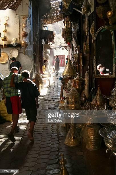 Souqs of Fez medina