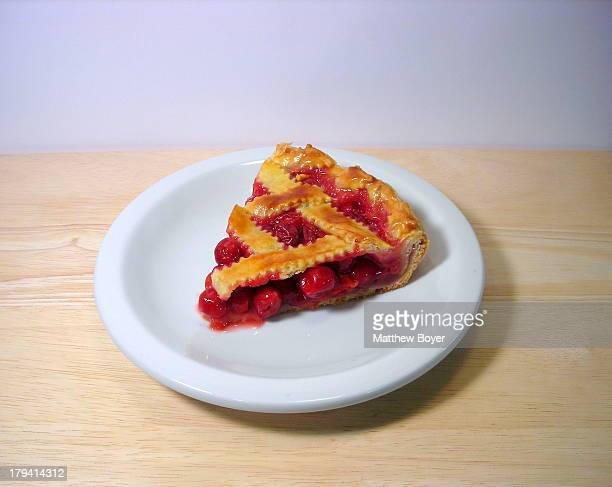Sour Cherry Lattice Pie