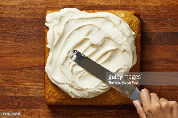 Sour Cream Maple Cake With Maple Buttercream Frosting. Photographed for Voraciously at The Washington Post via Getty Images in Washington DC.