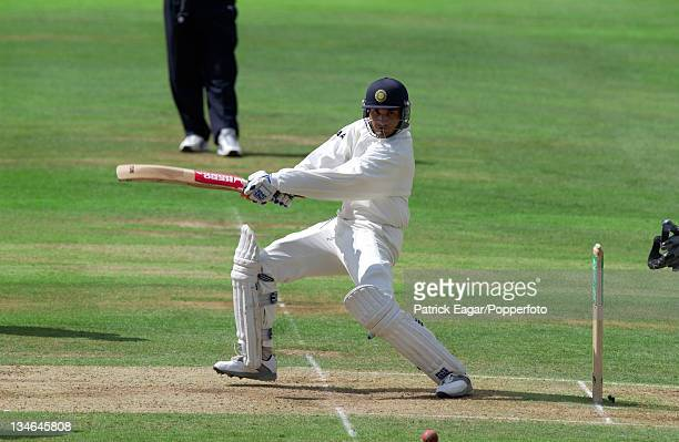 Sourav Ganguly England v India 2nd Test Trent Bridge August 2002