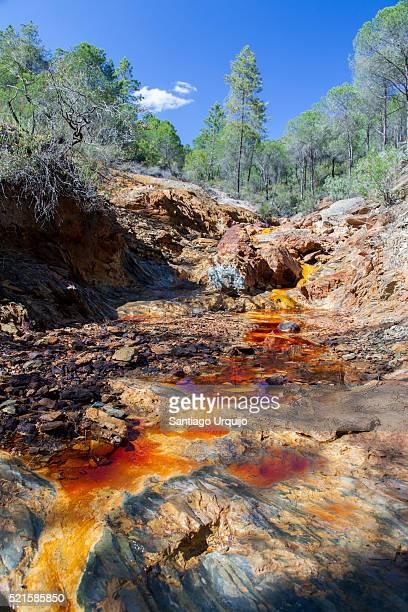 Source of Rio Tinto river