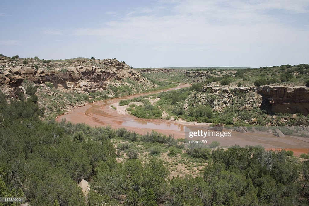 source of the Red River : Stock Photo
