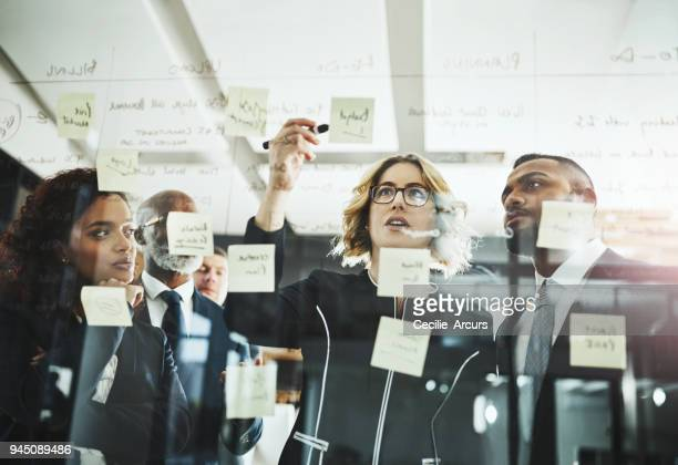 sourcing some of their greatest ideas yet - strategy stock photos and pictures