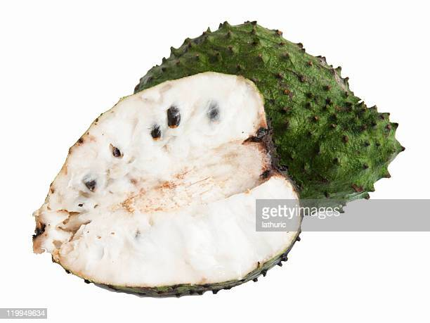 soursop or guanabana - jackfruit stock photos and pictures