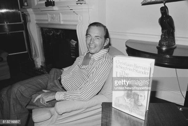 Sourth African surgeon Christiaan Barnard pictured in London on 19th March 1976