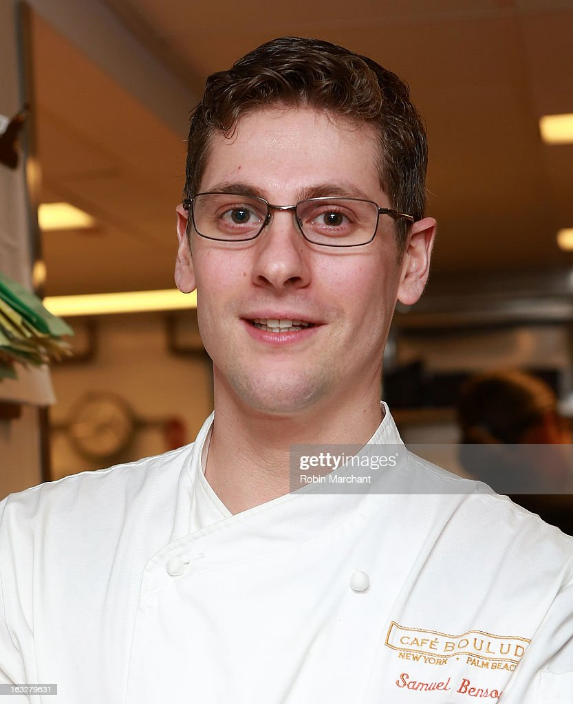 Sous Chef Sam Benson attends the 2013 Dinner For A Better New York at Riverpark Restaurant on March 6, 2013 in New York City.