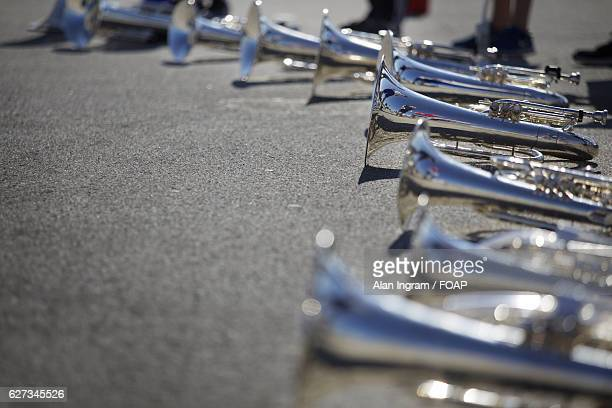 Sousaphone on street