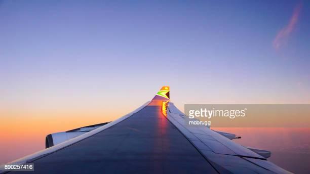 South African Airways Logo auf einem Airbus Flugzeug winglet