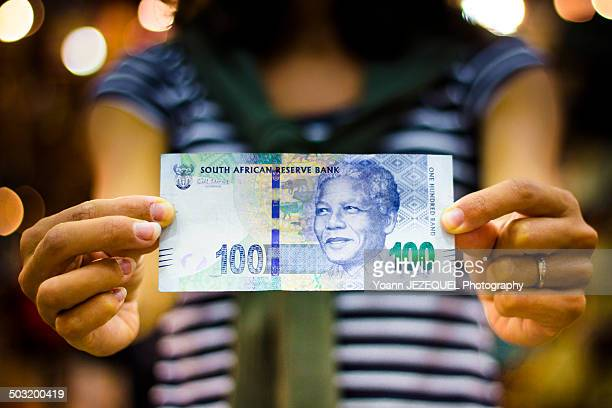 south africa banknote - south african currency stock photos and pictures