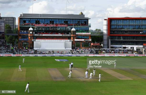 South Africa batsman Theunis de Bruyn is caught by Ben Stokes off the bowling of Moeen Ali during day four of the 4th Investec Test match between...