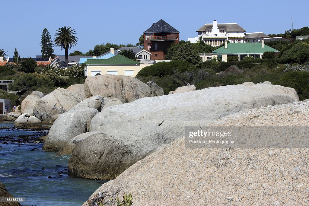 South Africa Boulders Beach Stock Photo