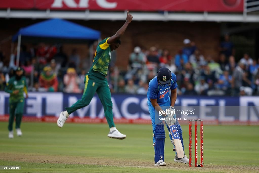 CRICKET-RSA-IND-ODI : News Photo
