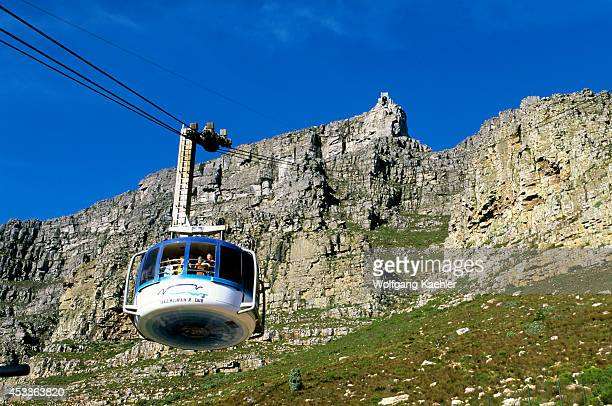 South Africa, Cape Town, Table Mountain, Cable Car.