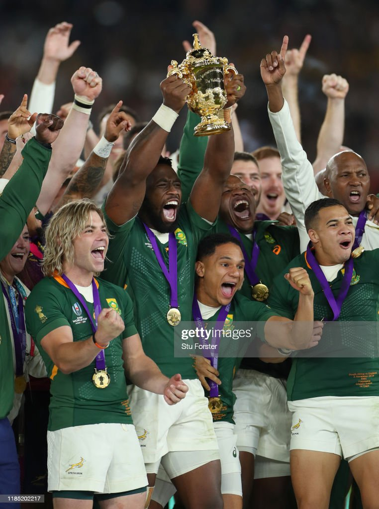 England v South Africa - Rugby World Cup 2019 Final : Fotografía de noticias