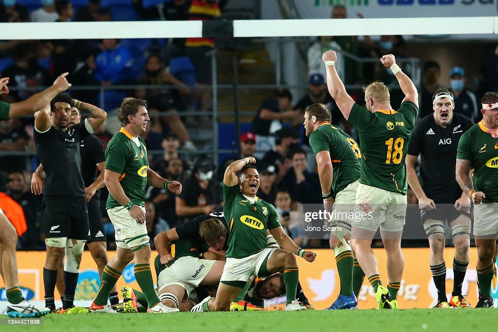 South Africa v New Zealand - Rugby Championship : News Photo