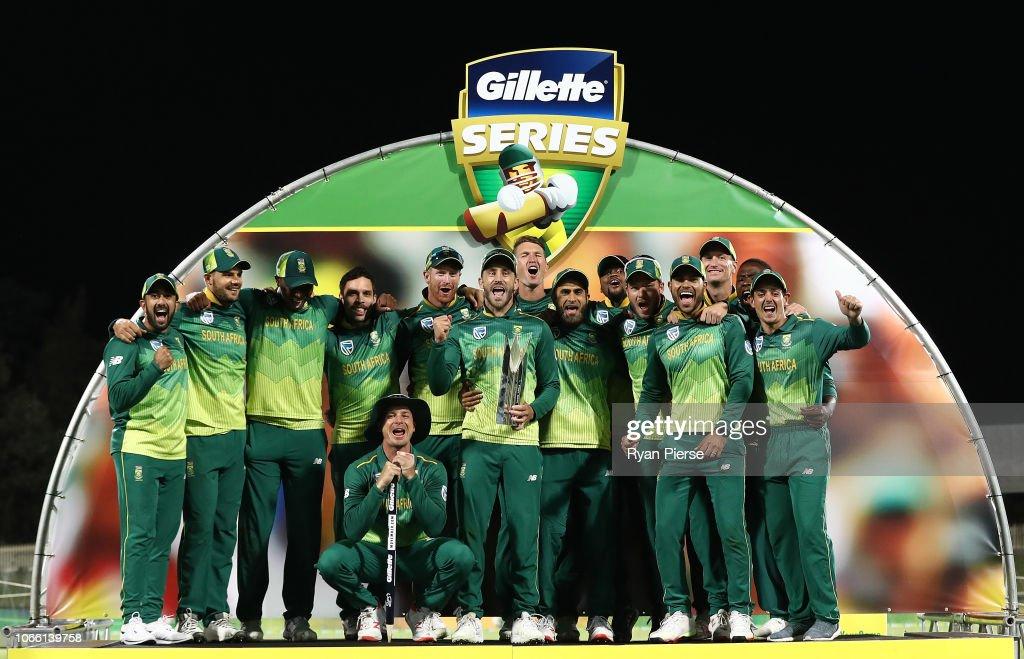 Australia v South Africa - 3rd ODI : ニュース写真