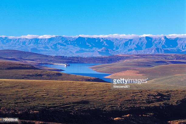 'Sterkfontein Dam Nature Reserve, near R74 to Harrismith, Free State, Drakensberg, South Africa'