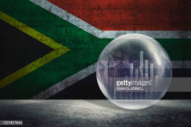 south africa financial bubble - south africa stock pictures, royalty-free photos & images