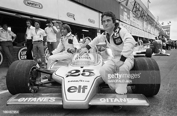 South Africa Formula 1 Grand Prix January 1979 En Afrique du Sud le 4 mars 1979 à l'occasion du Grand Prix de Formule 1 sur le circuit de Kyalami les...