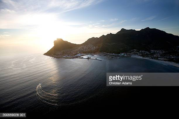 South Africa, Hout Bay, cityscape, aerial view