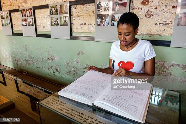 South Africa Johannesburg Braamfontein Constitution Hill Museum National Heritage site apartheid racism history Old Fort Prison Number Four memorial...
