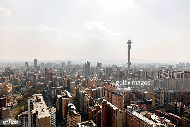 South Africa, Johannesburg, Hillbrow, cityscape