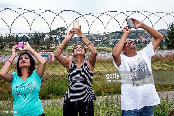 South Africa Johannesburg Soweto Orlando Cooling Towers Sky riders Bungee Jumping repurposed man woman smartphone pictures Hindu.