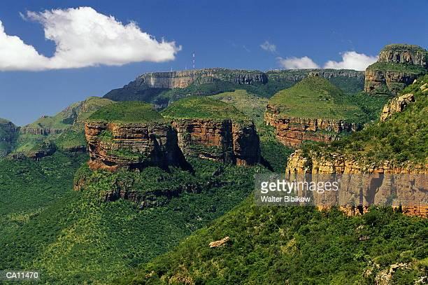 south africa, klein drakensberg, blyde river canyon - klein foto e immagini stock