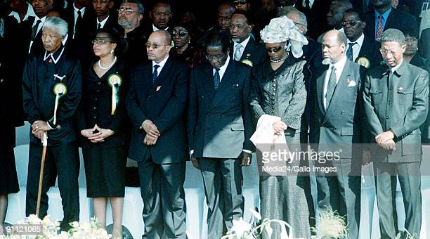 South Africa Leaders from neigbouring countries were in South Africa for the funeral of freedom fighter and activist Walter Sisulu