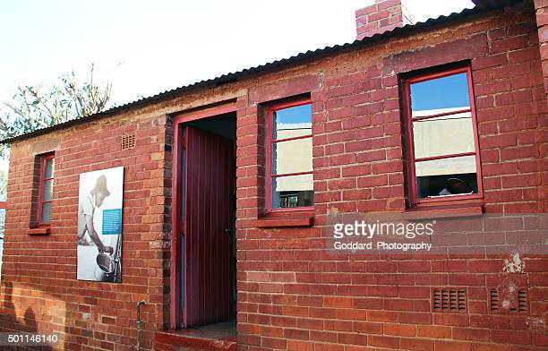 south africa: mandela house in soweto - soweto stock pictures, royalty-free photos & images