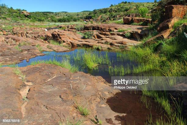 South Africa, Mpumalanga Province, Graskop, Blyde River Canyon, Bourke's Luck Potholes