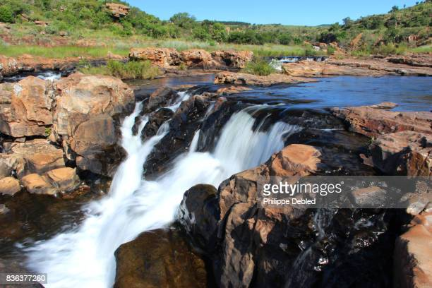 South Africa, Mpumalanga Province, Graskop, Blyde River Canyon, Bourke's Luck Potholes, waterfalls
