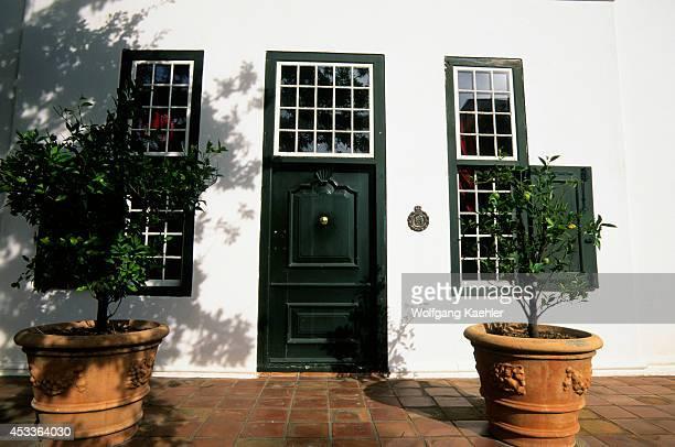 South Africa Near Cape Town Stellenbosch Village Museum Blettermanhuis Door