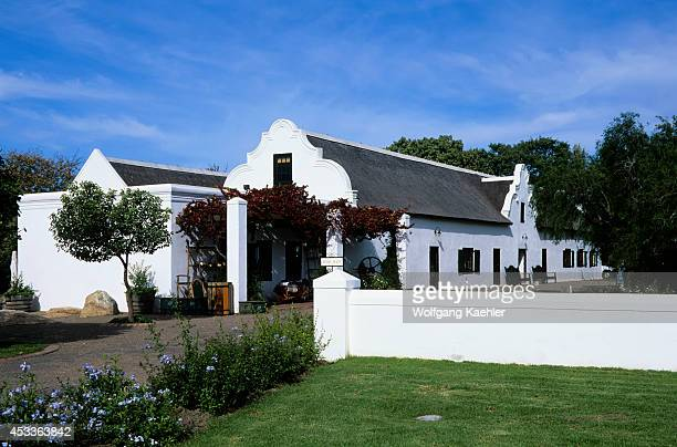 South Africa Near Cape Town Stellenbosch Wine Country Spier Estate