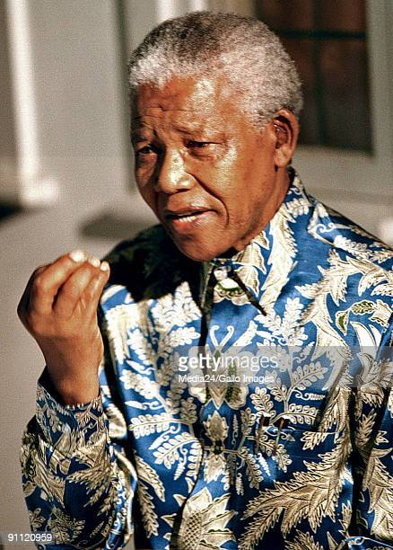 South Africa News Conference with Nelson Mandela 10 years out of prison