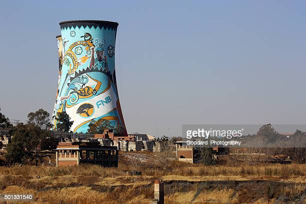 South Africa: Orlando Power Station Cooling Towers in Soweto