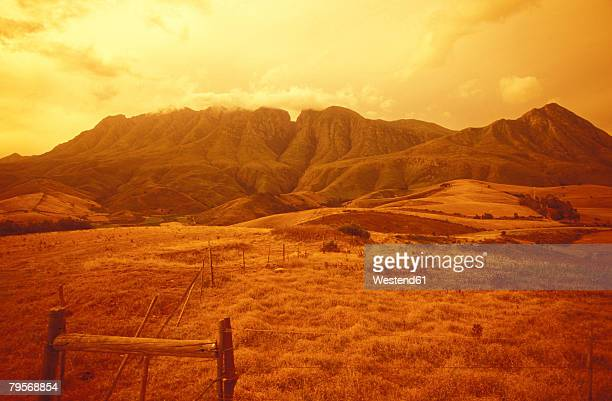 'R60, view over Langeberge between Swellendam and Montagu, Overberg, South Africa'