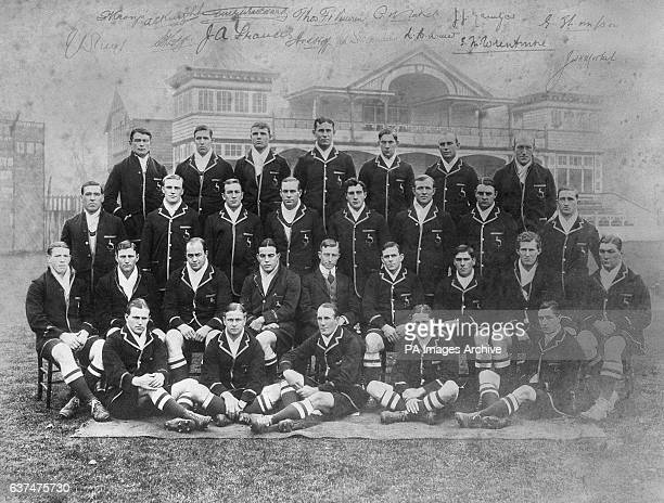 South Africa team group 1912